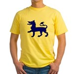 Two Sided East Kingdom Populace Yellow T-Shirt