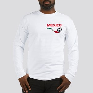 Soccer MEXICO Pocket Size Long Sleeve T-Shirt
