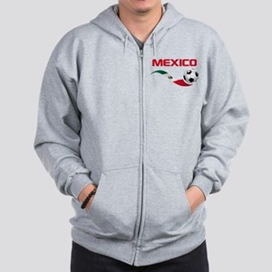 Soccer MEXICO Pocket Size Zip Hoodie