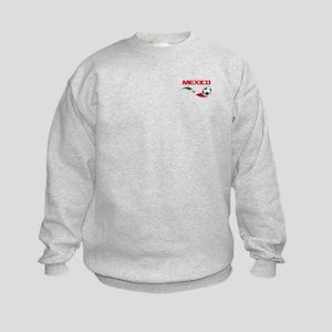 Soccer MEXICO Pocket Size Kids Sweatshirt