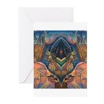 African Heart Greeting Cards (Pk of 10)