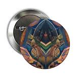 African Heart Button