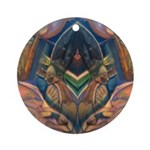 African Heart Ornament (Round)