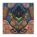 African Heart Tile Coaster
