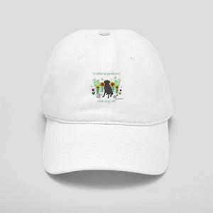 black lab Cap