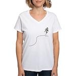 Save Gas Women's V-Neck T-Shirt