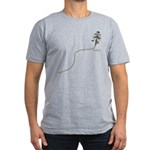 Save Gas Men's Fitted T-Shirt (dark)