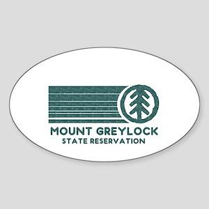 Mount Greylock Sticker (Oval)