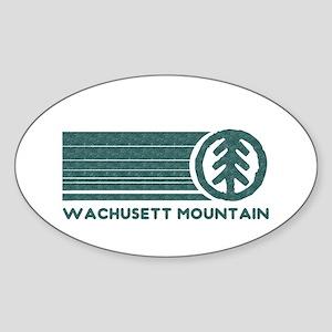 Wachusett Mountain Sticker (Oval)