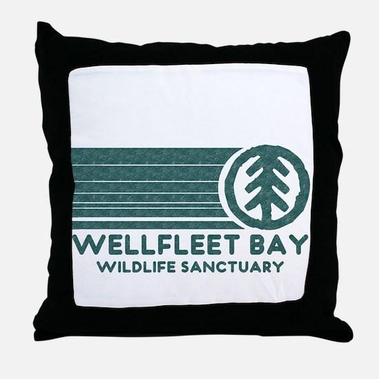 Wellfleet Bay Wildlife Sanctu Throw Pillow