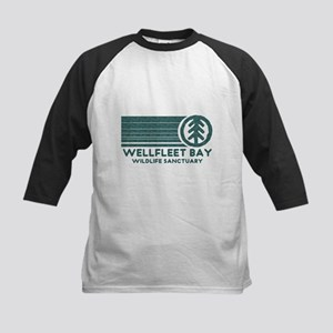 Wellfleet Bay Wildlife Sanctu Kids Baseball Jersey