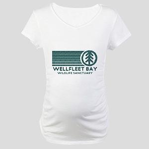 Wellfleet Bay Wildlife Sanctu Maternity T-Shirt
