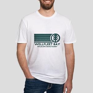 Wellfleet Bay Wildlife Sanctu Fitted T-Shirt