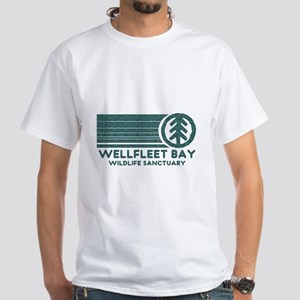 Wellfleet Bay Wildlife Sanctuary White T-Shirt