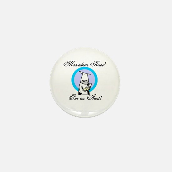 Moo-velous Aunt Mini Button