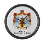 Order of St. Isidore of Sevil Large Wall Clock