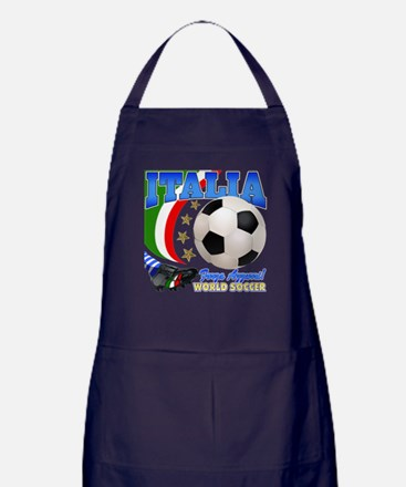 Italia World Soccer Kick Apron (dark)