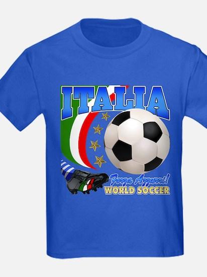 Italia World Soccer Kick T