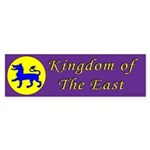 East Kingdom Populace Sticker (Bumper)