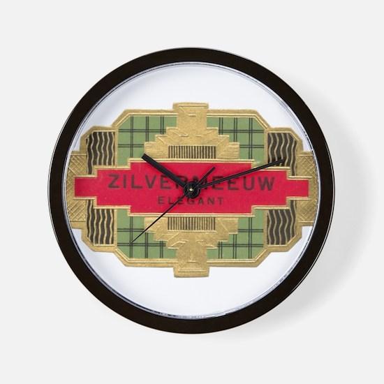 Vintage Cigar Label Wall Clock