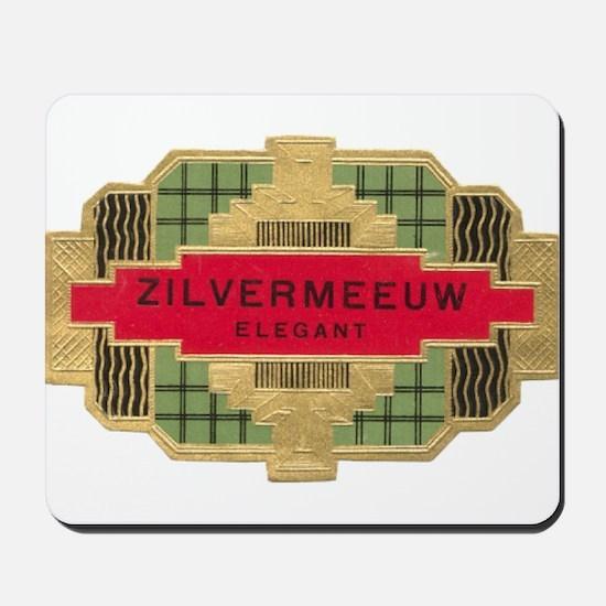 Vintage Cigar Label Mousepad