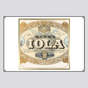 Vintage Cigar Label Banner