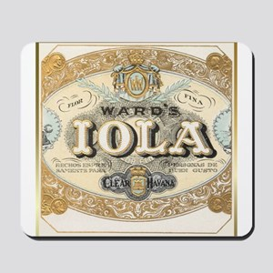 Vintage Cigar Label Mousepad