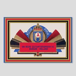 Vintage Cigar Label Postcards (Package of 8)