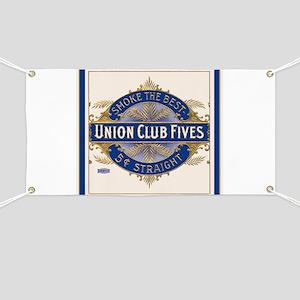 Vintage Cigar Label Banner
