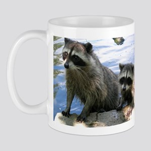Racoon Buddies Mug