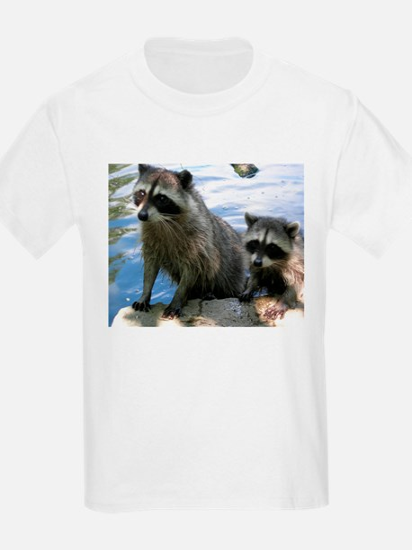 Racoon Buddies Kids T-Shirt