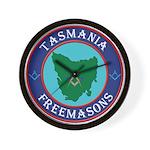 Tasmania Masons Wall Clock