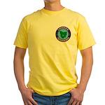 Tasmania Masons Yellow T-Shirt