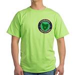 Tasmania Masons Green T-Shirt