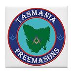 Tasmania Masons Tile Coaster