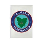 Tasmania Masons Rectangle Magnet (10 pack)