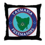 Tasmania Masons Throw Pillow