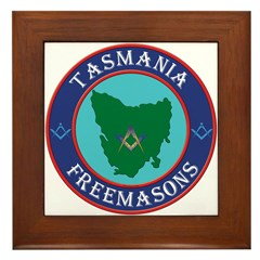 Tasmania Masons Framed Tile