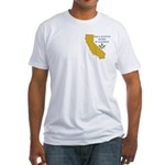 Republic of California Masons Fitted T-Shirt