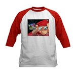 Cory's Red Cape Kids Baseball Jersey