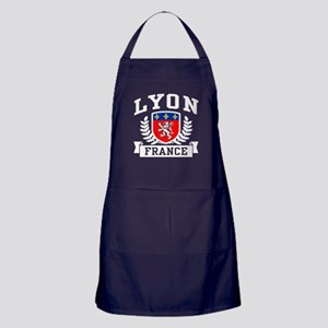 Lyon France Apron (dark)