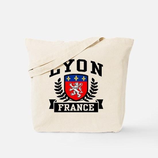 Lyon France Tote Bag