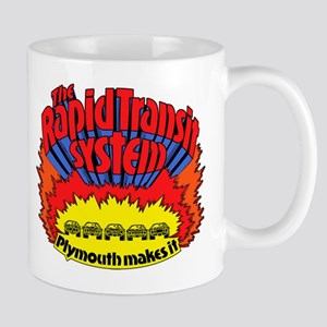 Rapid Transit System - Plymouth Mug