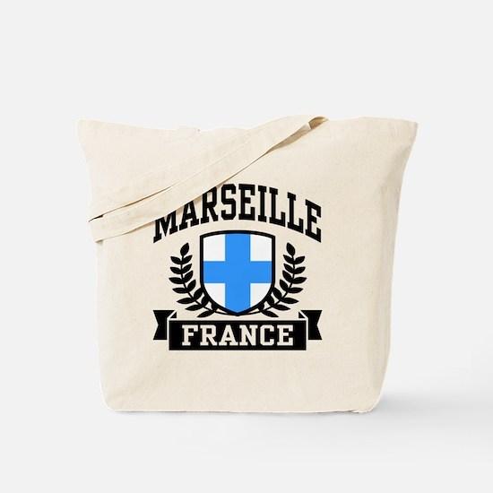 Marseille France Tote Bag