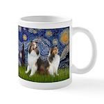 Starry / Two Shelties (D&L) Mug