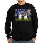 Starry / Two Shelties (D&L) Sweatshirt (dark)