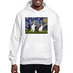 Starry / Two Shelties (D&L) Hooded Sweatshirt