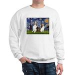 Starry / Two Shelties (D&L) Sweatshirt