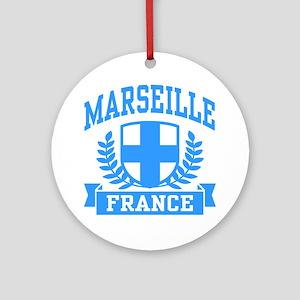 Marseille France Ornament (Round)