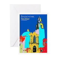 Balboa POP Art Greeting Card